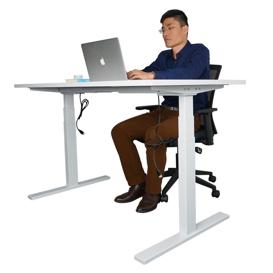 electric standing desk wholesale height adjustable desk. Black Bedroom Furniture Sets. Home Design Ideas